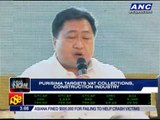 Purisima targets VAT collections, construction industry