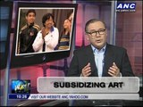 Teditorial: Subsidizing art
