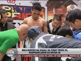 Pinoy boxers make weight for Pinoy Pride XXIV