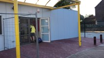 Hornu : visite de la nouvelle école du Centre