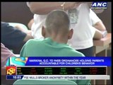 Marikina, QC to implement curfew by April
