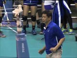 WATCH: Ateneo coach dances after Game 1 win
