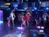 WATCH: Anne Curtis dances in a towel on 'It's Showtime'
