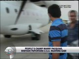 Pacquiao flies to US to continue training