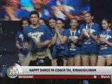 Marc Logan reports: 'Happy' Ateneo coach dances