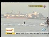 Atom Araullo tries flyboarding in Subic