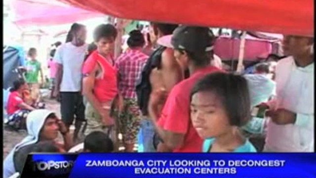 Health problems rise in crowded evacuation centers