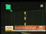 MMDA provides two new bike lanes along EDSA