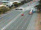 WATCH: CCTV footage of SLEX bus mishap
