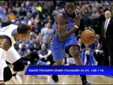 Mavs triumph over Thunder in OT