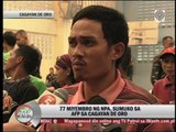 72 NPA rebels surrender in Cagayan de Oro