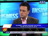 Quimbo says lower income tax rates to be in place by 2016