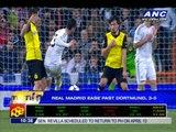 Real Madrid ease past Dortmund, 3-0