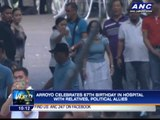 Arroyo celebrates 67th birthday in hospital
