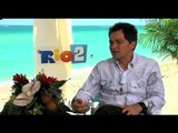 Bruno Mars talks about 'Rio 2' role
