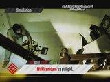 Atom Araullo shows what to do when 'akyat-bahay' strikes