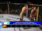Werdum beats Browne, earns shot at UFC title