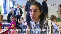 Rentrée scolaire: à Paris, premiers pas dans une maternelle