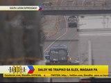 Heavy traffic seen at SLEX on Maundy Thursday
