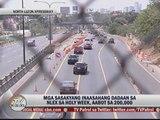 Heavy traffic expected at NLEX, SLEX