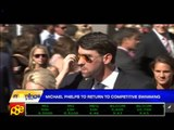 Phelps to return to competitive swimming