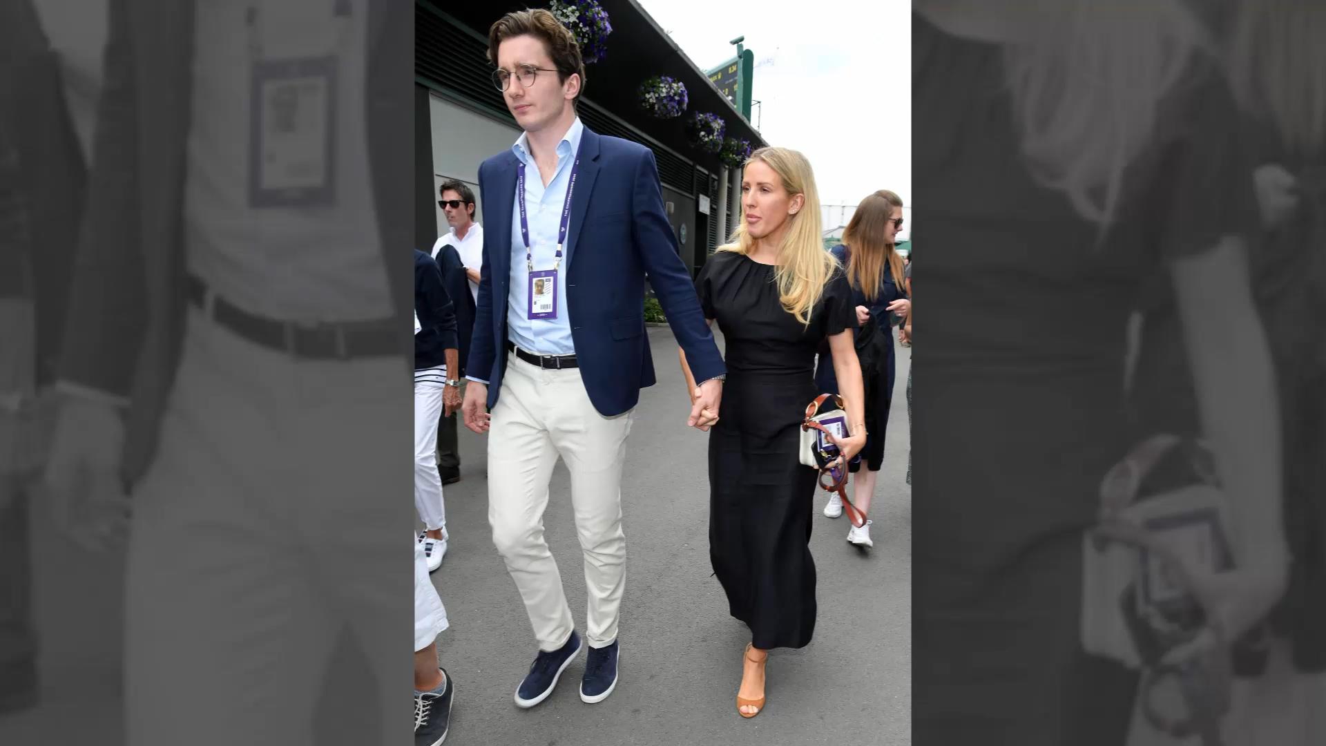 Ellie Goulding marries art dealer fiance