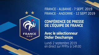 La conférence de presse de Didier Deschamps en direct (14h30)