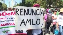 Premier grand discours pour le nouveau président du Mexique