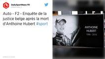 Formule 2 : La justice belge ouvre une enquête après la mort du pilote français Anthoine Hubert