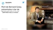 Bernard Golay, qui présentait « La Une est à vous », est décédé