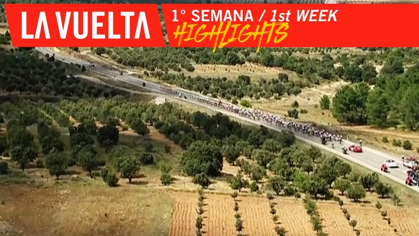 Highlights - 1ère semaine / 1st week | La Vuelta 19