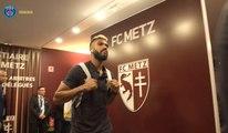 Metz v Paris Saint-Germain: Inside