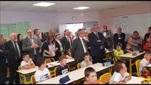 Depuis Cappel, les écoliers en visioconférence avec les copains et copines du collège de  Puttelange