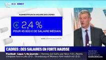Les cadres bénéficient d'une augmentation de leurs salaires de 2,4%
