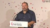 """Mena (CatComú) a Sánchez: """"Aún estamos a tiempo de llegar a un acuerdo de estabilidad progresista"""""""