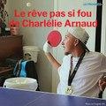 Tennis de table:  le rêve olympique de Charlélie Arnaud