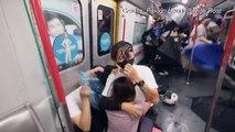 Neue Proteste in Hongkong - U-Bahn-Blockade und Uni-Boykott