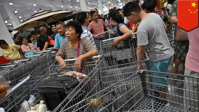 Chinese customers are making a mess of Costco in Shanghai