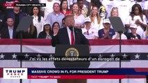La troisième fois où Donald Trump a découvert l'existence d' un ouragan de catégorie 5
