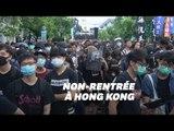 À Hong Kong, les étudiants commencent un boycott de deux semaines