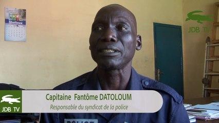 Grève de la police centrafricaine : Le Capitaine Fantome Datoloum donne des précisions