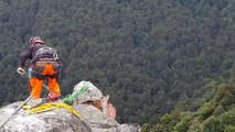 Metzeral : Les rochers menaçant le GR5 ont été purgés