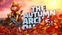 Autumn Queen Brings a New Season (Clash of Clans September Season Challenges)