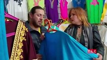 Zied and Rebecca look for outfits for her to wear before meeting his parents  ,  90 Day Fiance Before The 90 Days