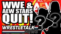 WWE & AEW Stars QUIT! AEW All Out Backstage News! _ WrestleTalk News Sept 2019