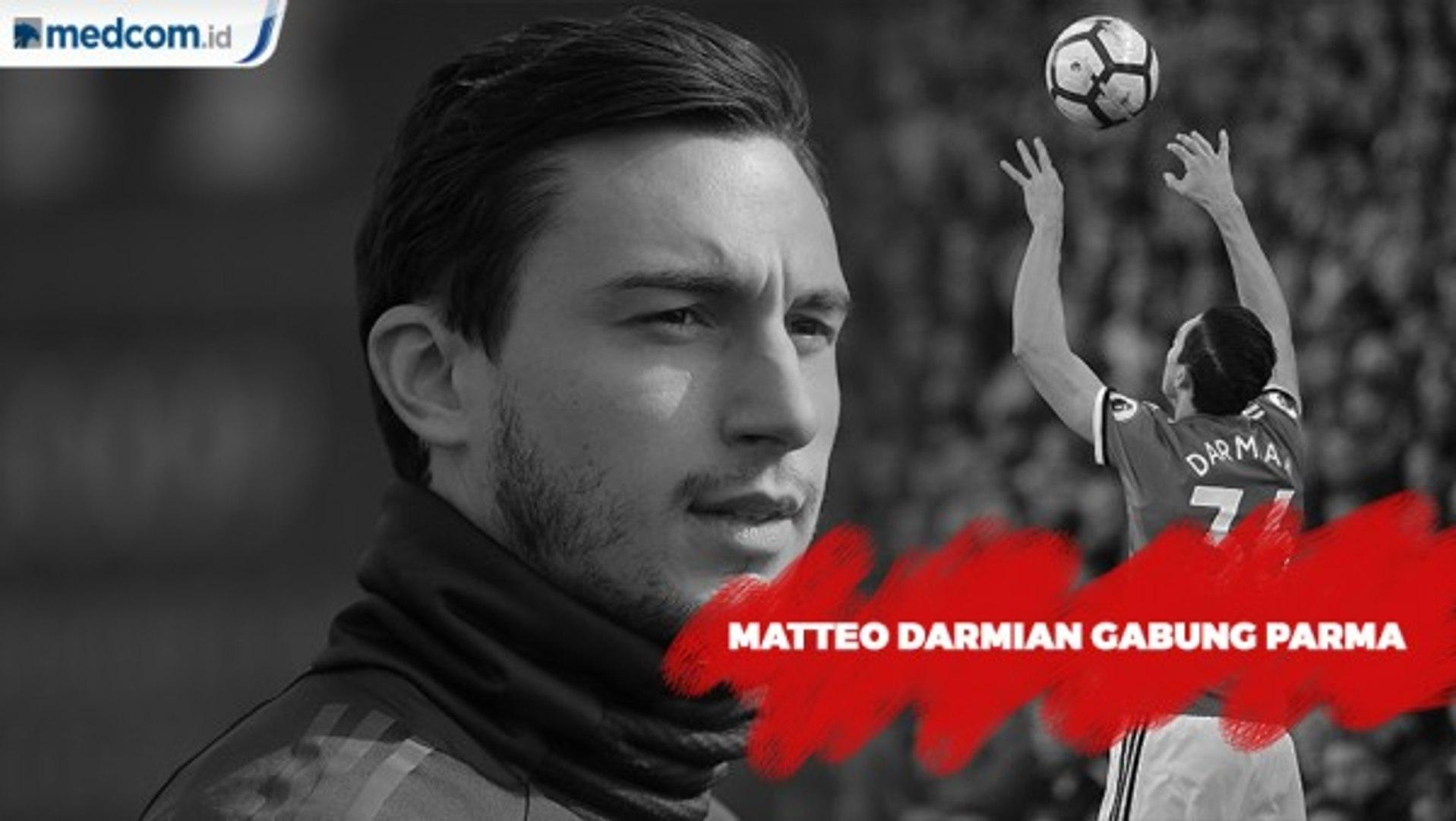 MU Resmi Lepas Matteo Darmian