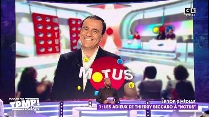 "Les adieux de Thierry Beccaro à ""Motus"" : Darka ou Rasra ?"