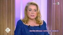 Catherine Deneuve prend la défense de Roman Polanski - C à vous (France 5), lundi 2 septembre 2019