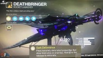 """Destiny 2 - NEW VOID EXOTIC ROCKET """"DEATHBRINGER"""" & First Look At Raid Weapons !"""