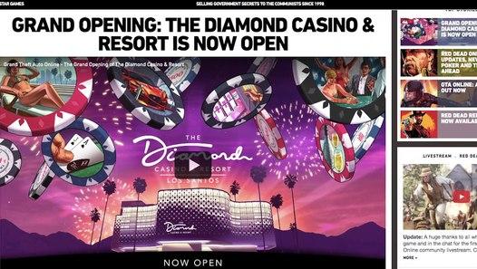 mise a jour casino gta 5